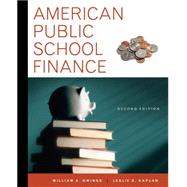 American Public School Finance by Owings, William; Kaplan, Leslie, 9781111838041