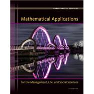 Mathematical Applications for the Management, Life, and Social Sciences by Harshbarger, Ronald J.; Reynolds, James J., 9781305108042