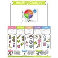 Healthy Choices Chart by Carson-Dellosa Publishing Company, Inc., 9781483838045