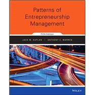 Patterns of Entrepreneurship Management by Kaplan, Jack M.; Warren, Anthony C., 9781118978047