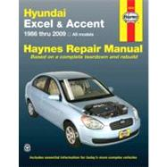 Hyundai Excel & Accent Automotive Repair Manual by Stubblefield, Mike, 9781563928048