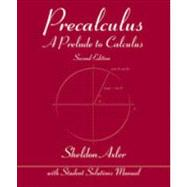 Precalculus by Axler, Sheldon, 9780470648049