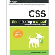 CSS: The Missing Manual by McFarland, David Sawyer, 9781491918050