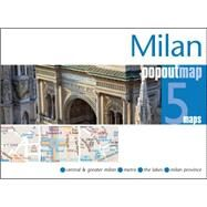 Milan Popout Map by , 9781910218051