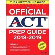 The Official Act Prep Guide 2019 by Act, 9781119508069