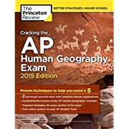 Cracking the AP Human Geography Exam, 2019 Edition by PRINCETON REVIEW, 9781524758073