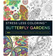 Butterfly Gardens Adult Coloring Book by Adams Media, 9781440598074