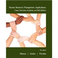 Human Resource Management Applications by Nkomo, Stella M.; Fottler, Myron D.; McAfee, R. Bruce, 9780538468077