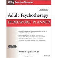 Adult Psychotherapy Homework Planner by Jongsma, Arthur E., 9781119278078