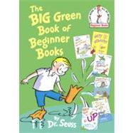 The Big Green Book of Beginner Books by DR SEUSS, 9780375858079