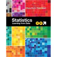 Statistics Learning from Data by Peck, Roxy; Short, Tom, 9781337558082