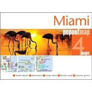Miami Popout Map: Handy Pocket-size Pop-up Map of Miami by Popout Maps (CRT), 9781910218082