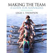 Making the Team by THOMPSON, 9780132968089
