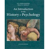 An Introduction to the History of Psychology by Hergenhahn, B. R.; Henley, Tracy, 9781133958093