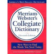 Merriam-Webster's Collegiate Dictionary (Book with CD-ROM) by Not Available, 9780877798095