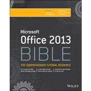 Microsoft Office 2013 Bible by Bucki, Lisa A.; Walkenbach, John; Alexander, Michael; Kusleika, Dick; Wempen, Faithe, 9781118488096