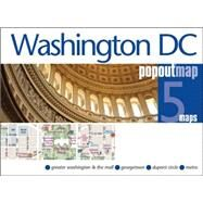 Popout Map Washington DC by Compass Maps Ltd, 9781910218099
