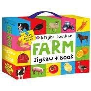 Bright Toddler: Farm Jigsaw and Book Set by Priddy, Roger, 9780312518103