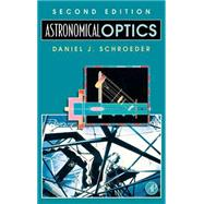 Astronomical Optics by Schroeder, 9780126298109