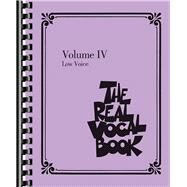 The Real Vocal Book: Low Voice by Hal Leonard Publishing Corporation, 9781480338111