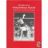 Nagws Volleyball Rule Book 1999-2000: Official Rules, Interpretations & Officiating by , 9780883148112