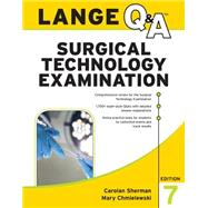 LANGE Q&A Surgical Technology Examination, Seventh Edition by Sherman, Carolan; Chmielewski, Mary, 9781259588112