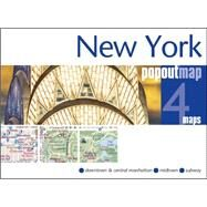 New York Popout Map by Popout Maps, 9781910218112