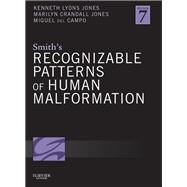 Smith's Recognizable Patterns of Human Malformation by Jones, Kenneth Lyons, M.D., 9781455738113