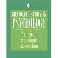 Graduate Study in Psychology 2018 by American Psychological Association, 9781433828119