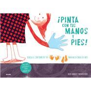 Pinta con tus manos y pies! by Bahbout, Jacky; Kudo, Momoko, 9788498018127