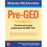 McGraw-Hill Education Pre-GED, Second Edition by Unknown, 9781260118131