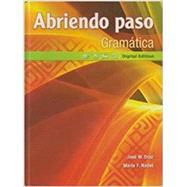 Abriendo Paso 2014 Gramatica Student Edition (NWL) by Pearson, 9780133238136