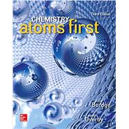 Chemistry: Atoms First by Burdge, Julia; Overby, Jason, 9781259638138