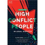 High Conflict People in Legal Disputes by Eddy, Bill, 9781936268153