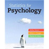 Statistics for Psychology by Aron, Arthur, Ph.D.; Coups, Elliot E., Ph.D.; Aron, Elaine N., Ph.D., 9780205258154