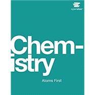 Chemistry - Atoms First by Edward J. Neth, 9781938168154