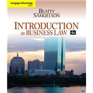 Cengage Advantage Books: Introduction to Business Law by Beatty, Jeffrey F.; Samuelson, Susan S., 9781133188155