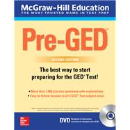 McGraw-Hill Education Pre-GED with DVD, Second Edition by Unknown, 9781260118155