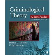 Criminological Theory by Tibbetts, Stephen G.; Hemmens, Craig, 9781452258157