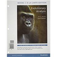 Evolutionary Analysis, Books a la Carte Edition by Herron, Jon C.; Freeman, Scott, 9780321928160