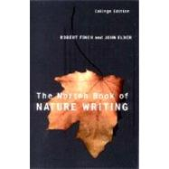The Norton Book of Nature Writing by Finch, Robert; Elder, John, 9780393978162