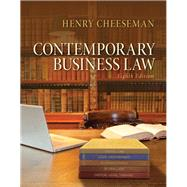 Contemporary Business Law by Cheeseman, Henry R., 9780133578164