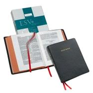 ESV Wide Margin Reference Bible, Black Edge-Lined Goatskin Leather, Red Letter Text ES746:XRME by Bible, 9780521708166