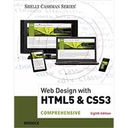 Web Design with HTML & CSS3 Comprehensive by Minnick, Jessica; Friedrichsen, Lisa, 9781305578166