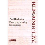Item #49002755, Elementary Training for Musicians by Hindemith, Paul, 9780901938169