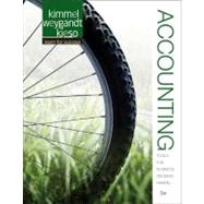 Accounting: Tools for Business Decision Making by Kimmel, Paul D., Ph.D.; Weygandt, Jerry J.; Kieso, Donald E., Ph.D., 9781118128169