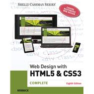 Web Design with HTML & CSS3 Complete by Minnick, Jessica; Friedrichsen, Lisa, 9781305578173