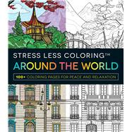 Around the World Adult Coloring Book by Adams Media, 9781440598173