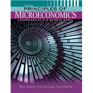 Principles of Microeconomics by Shorow, Dave; Newbury, Fred; Herring, Gus, 9781465278180