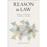 Reason in Law by Carter, Lief H.; Burke, Thomas F.; Levinson, Sanford, 9780226328188